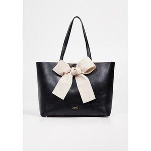 NWT Frances Valentine Trixie Tote Black/Oyster